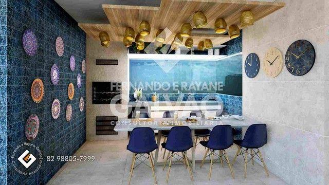 Quarto /Sala  com Varanda Gourmet, financ. banco, 1ª quadra da praia de Jatiúca! - Foto 10