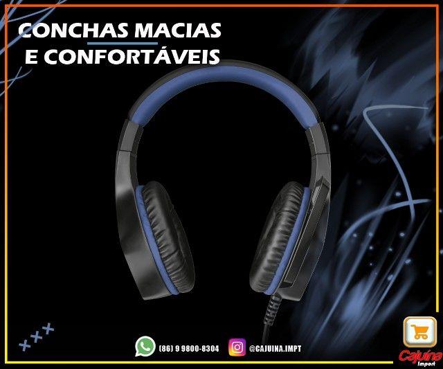 Headset Gamer trust Gxt 404b Rana azul M21sd9sd21 - Foto 4