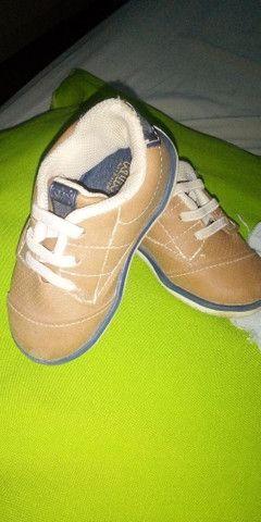 Calçados de menino semi novo - Foto 2