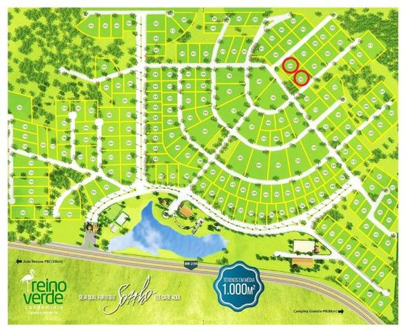 Lote-Condomínio Reino Verde-40mx30m(1200m2)-Valor Imperdível R$ 150.000,00