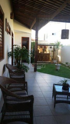 Casa com 4 dormitórios à venda, 327 m² por r$ 800.000 - nova parnamirim - parnamirim/rn