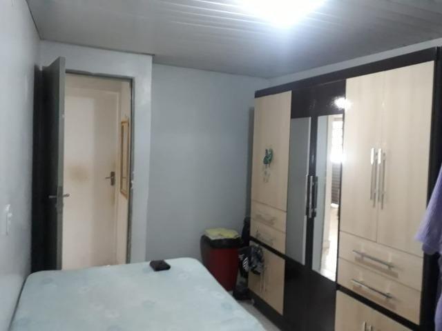 Vd casa 2 quartos, com casa de fundos de 1 quarto, R$ 210 mil aceito financiamento - Foto 10