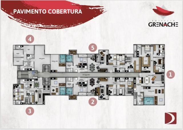 Cobertura Garden - Lancamento Ed. Grenache - Foto 4