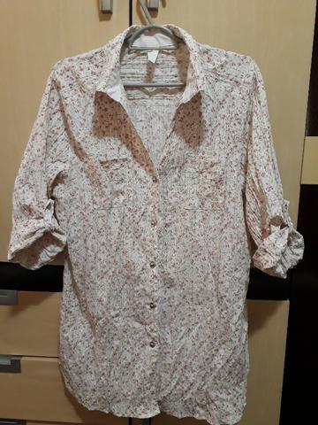 Camisa floriadinha