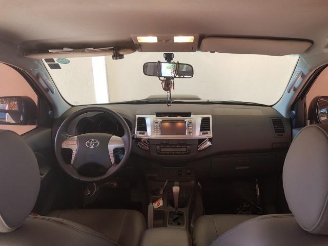Toyota Hilux SRV 13/13 - Completa - Diesel - Automática - Foto 8