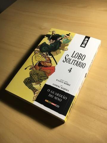 Mangá Lobo Solitário Ed.4