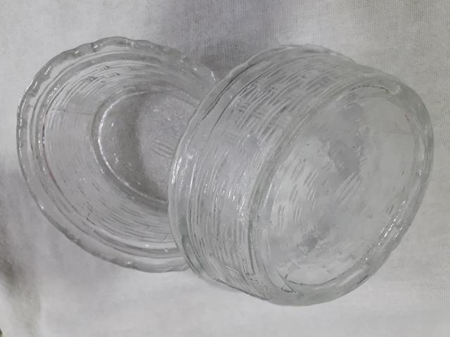 Mantegueira antiga em vidro - Foto 3