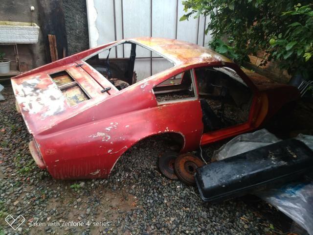 Vendo carroceria do Puma GTE sem as portas e sem chassis