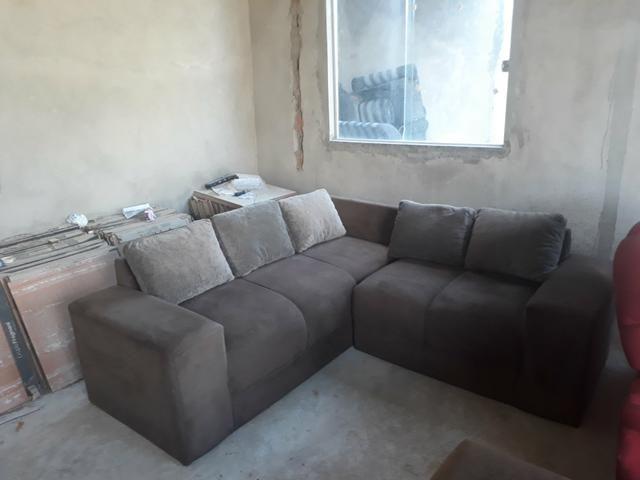 Sofa de canto usado seminovo em serrinha zap * - Foto 2