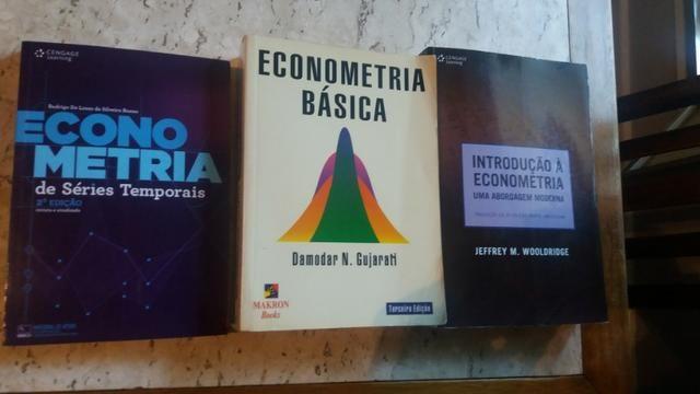 Livros de Econometria