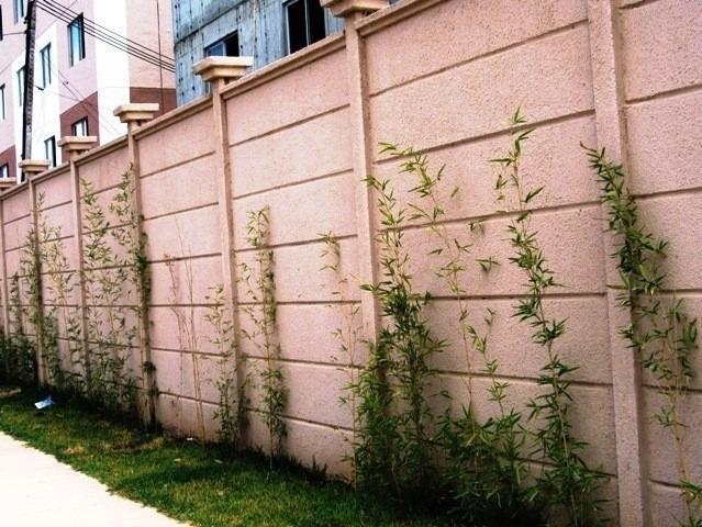 Muro pré-moldado, chapéu de muro premoldado, casa prefabricada - Foto 4