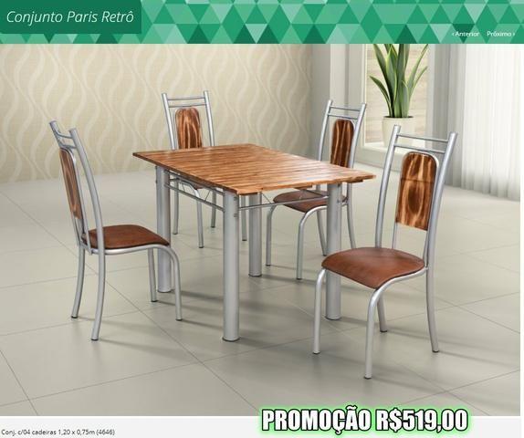 Promoção das Fabricas - Mesas e Banquetas em aço Inox - Foto 4