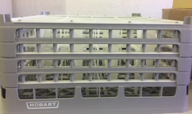 Gaveta (Rack)para copos altura interna :21 cm x 16 copos.Marca Hobart.Novo - Foto 2