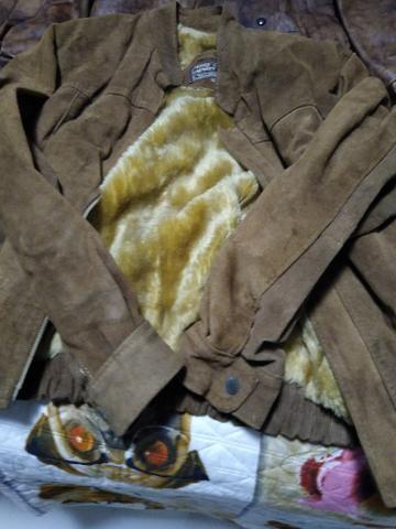 Vendo casaco couro grosso - Foto 3
