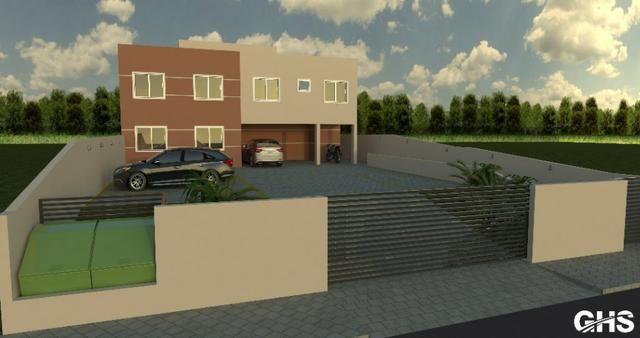 Apartamentos em construcao, bairro cercadinho, cidade campo largo entrada facilitada