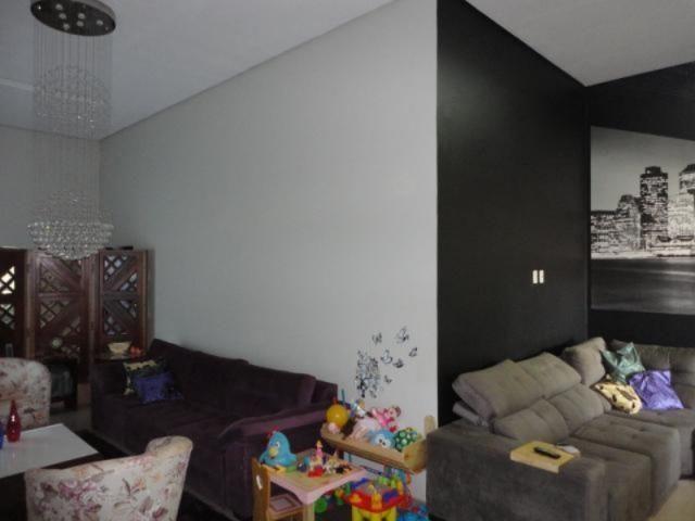 Vicente pires, linda e moderna casa, sala com pé direito duplo - Foto 9