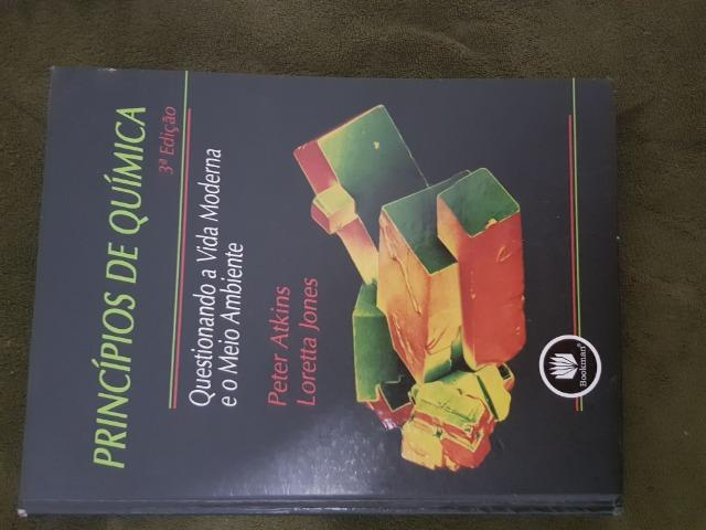 Livro Princípios de quimica peter atkinks loretta jones 3a edição