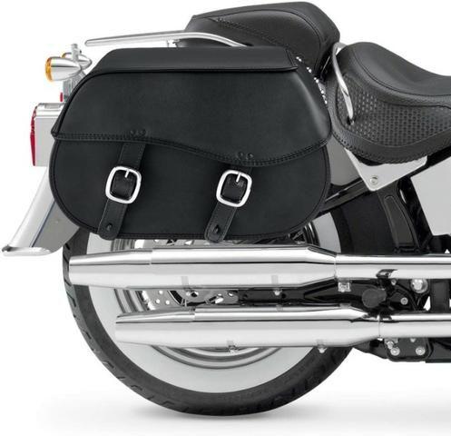 Alforge para moto couro Nomad USA - Foto 2