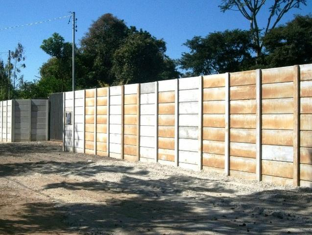 Muro pré-moldado, chapéu de muro premoldado, casa prefabricada - Foto 6