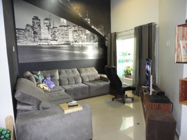 Vicente pires, linda e moderna casa, sala com pé direito duplo - Foto 2