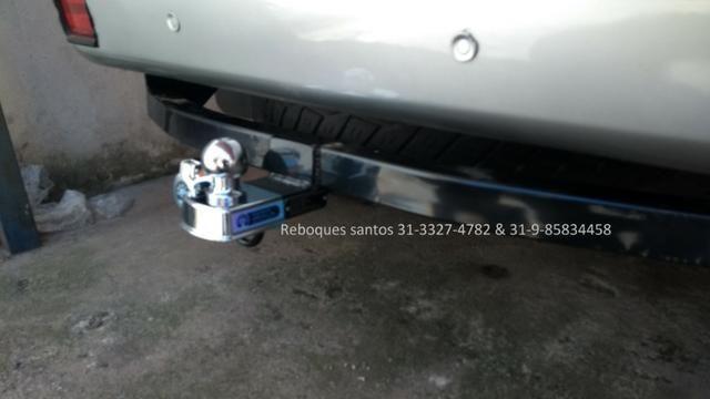 Engate-reboque caminhontes fixo e removivél - Foto 15