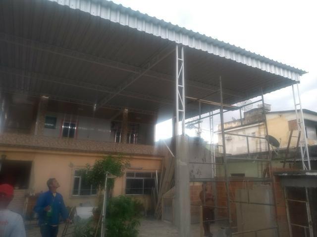 Fabricamos telhados em geral