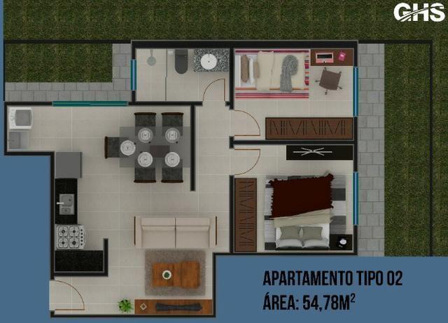 Apartamentos em construcao, bairro cercadinho, cidade campo largo entrada facilitada - Foto 9