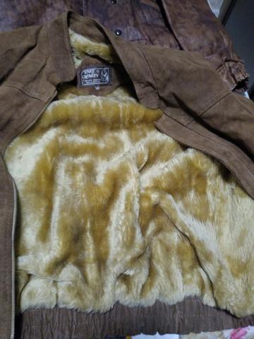 Vendo casaco couro grosso - Foto 4