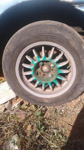 Motor ap 1.8 e rodas 14 - Foto 2