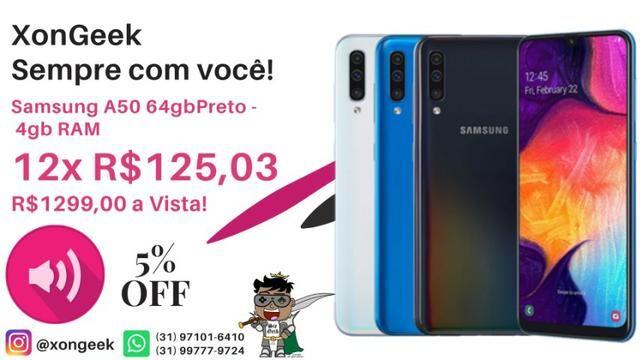 Samsung Galaxy A50 - Lacrado com 6 meses de Garantia! - Foto 2