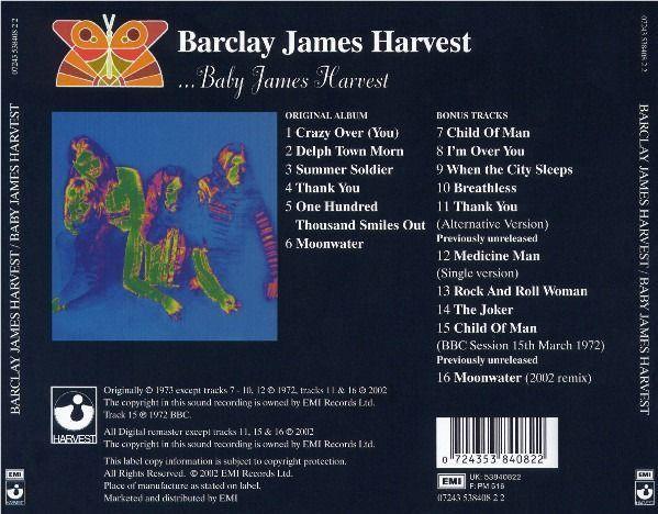 Barclay James Harvest - Baby James Harvest - Foto 2