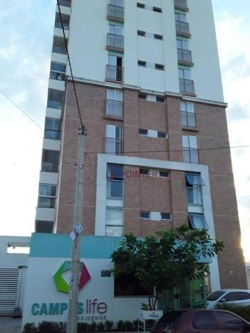 Apartamento com 1 dormitório para alugar, 47 m² por R$ 1.200,00/mês - Setor Leste Universi