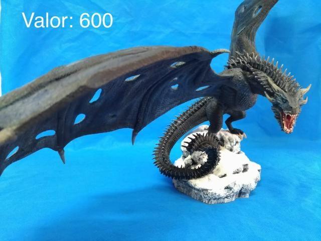 Estátua Viserion - Game of Thrones - Foto 4