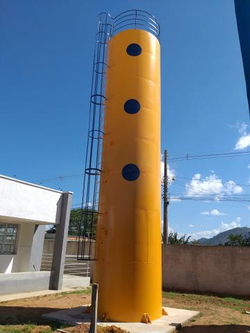 Reservatórios metálicos (cx d'água)