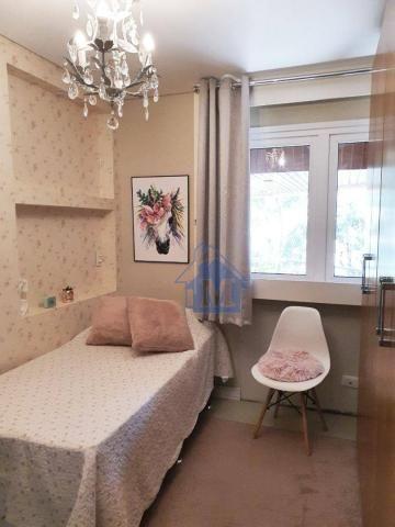 Lindo Apartamento Semimobiliado, 2 Suítes e 1 Quarto, Sacada Gourmet, no Centro! - Foto 13