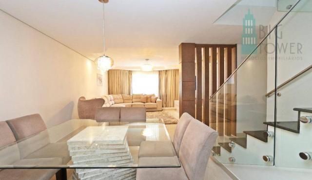 Casa com 3 dormitórios Cond. Fechado à venda, 180 m² - Fazendinha - Curitiba/PR - Foto 13