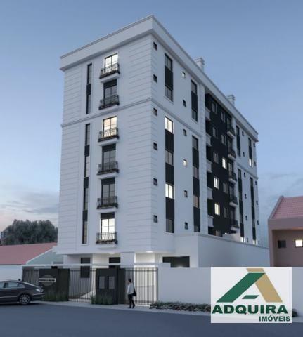 Apartamento com 2 quartos no Le Raffine Residence - Bairro Estrela em Ponta Grossa - Foto 2