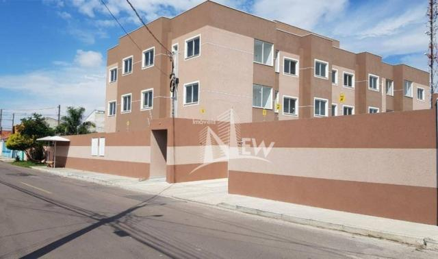 Apartamento térreo com GARDEN, 02 quartos no Parque da Fonte, São José dos Pinhais - Foto 2
