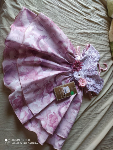 Vestido de festa infantil NOVO
