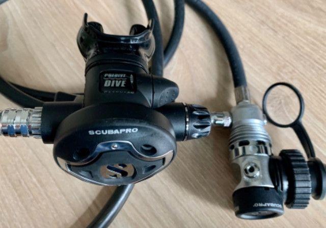 Regulador Scubapro MK25 TIS2 DIN 300 + S600 - Foto 4