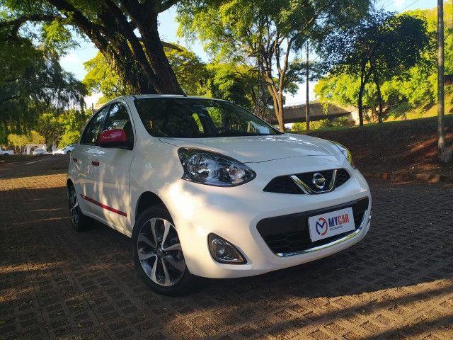 Nissan March 2016 Motor 1.6 Sl Completo Oportunidade