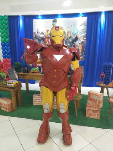 Fantasia Homem de Ferro Cosplay - Foto 4