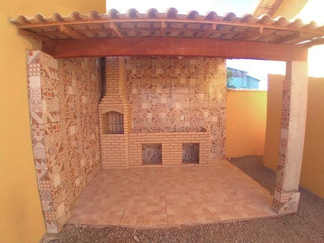 Casas em Unamar- Tamoios, 2º distrito de Cabo Frio área gourmet com churrasqueira - Foto 4