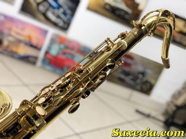 Sax Saxofone Tenor (Sib) Revisado, Higienizado, - Foto 3