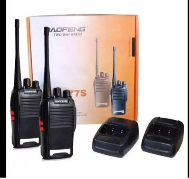 Rádio comunicador transmissor 777s loja Jk  - Foto 2