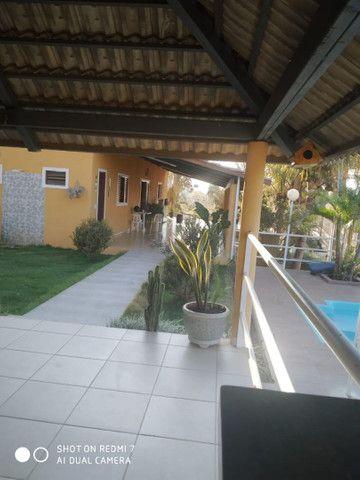 Loca-se casa com 4/4, quiosque, piscina aquecida, wi fi,  a beira do lago de Corumbá IV. - Foto 5