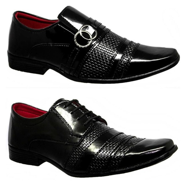 Sapato Social Sintético - Foto 3