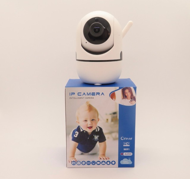 Mini Camera Ip Inteligente Robo Onvif/ Hd/ Wifi/ Audio - Foto 2