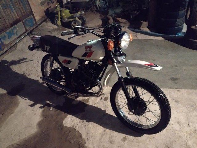 Moto Yamaha Tt125 ano 1979 - Foto 7