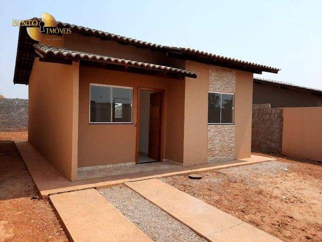 Casa com 2 dormitórios à venda, 64 m² por R$ 172.000 - Jardim Glória l - Várzea Grande/MT - Foto 16